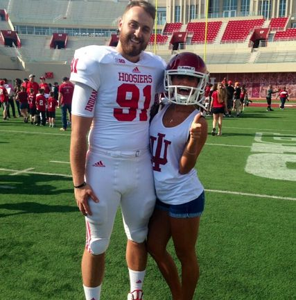 Dating a College Football Player