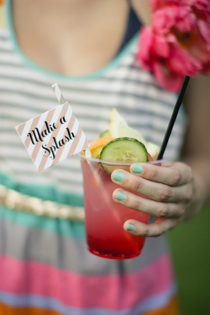 thirsty: Summer Drinks, Hello Sunshine, Ace Hotels, Summer Parties, Palms Spring, Parties Ideas, Pools Parties, Summer Birthday, Bright Colors