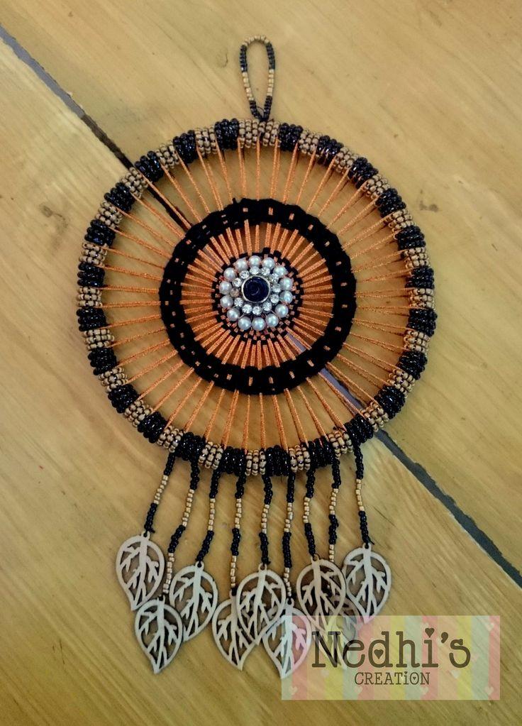 Beads Copper nd Black Dreamcatcher