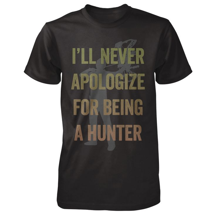 "Shockey Enterprises - Limited Edition Tee ""Show your hunting pride with this limited-edition super soft tee. And never apologize for being a hunter!"" - Eva Available for 2 weeks only!! *Made in the USA* *Women's and Men's shirts available!* *Ships Worldwide*"