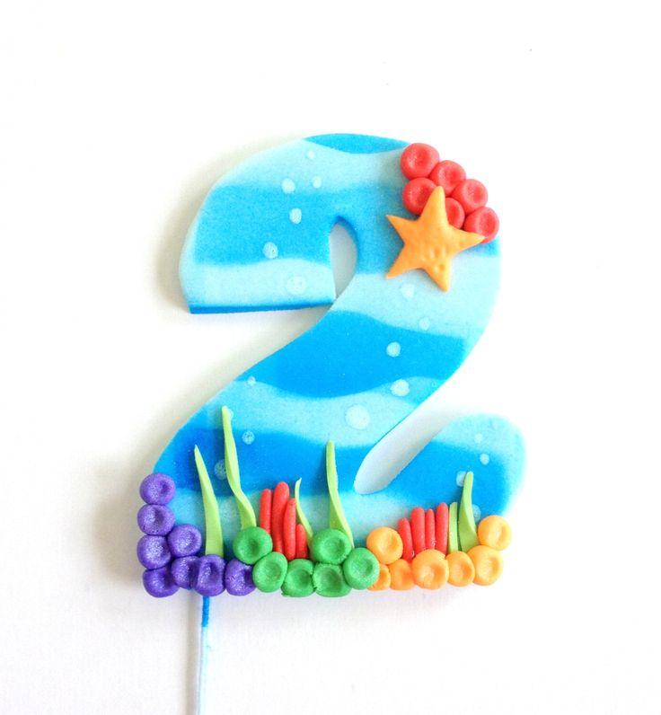 Bubble Guppies Inspired Number Fondant Cake Topper by CakesbyMaylene on Etsy https://www.etsy.com/listing/221212092/bubble-guppies-inspired-number-fondant