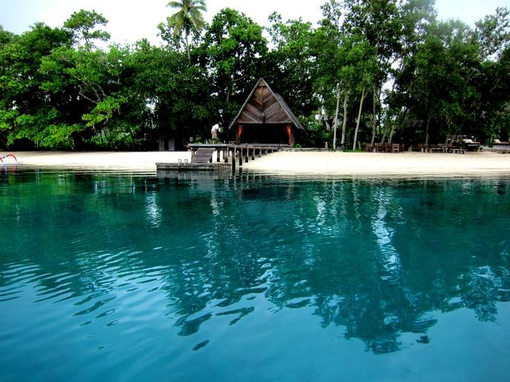 Can you picture yourself here? Ratua Private Island, Vanuatu  www.islandescapes.com.au