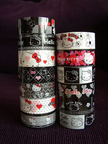 Hello Kitty Duct Tapes!! :)