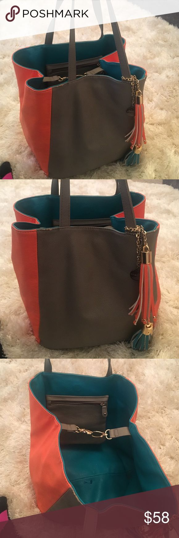 Beautiful big Buddha bag in perfect condition This bag is amazing can make it medium or large it's Spacy  beautiful colors tassels and gold accents Big Buddha Bags Shoulder Bags
