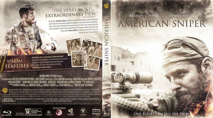 American Sniper Blu-ray Custom Cover