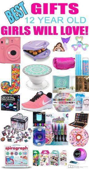 Gifts 12 Year Old Girls! Best gift ideas and suggestions for 12 yr old girls. Top presents for a girl on her twelfth birthday or Christmas!  sc 1 st  Pinterest & Best Gifts For 12 Year Old Girls | 12th birthday | Birthday gifts ...