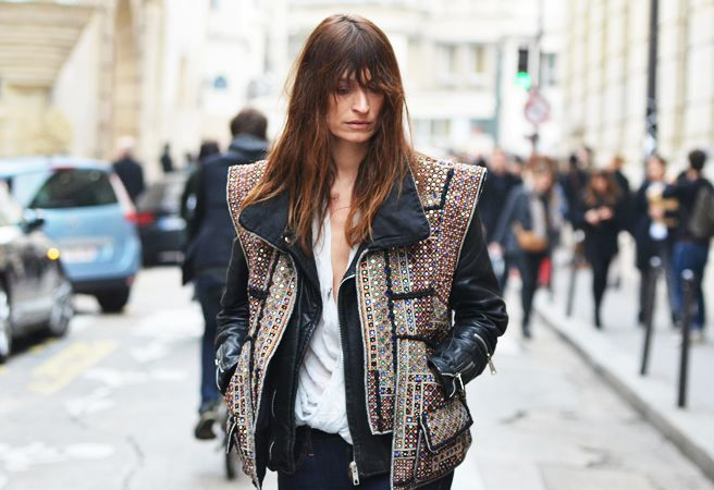 jeweled jacket.