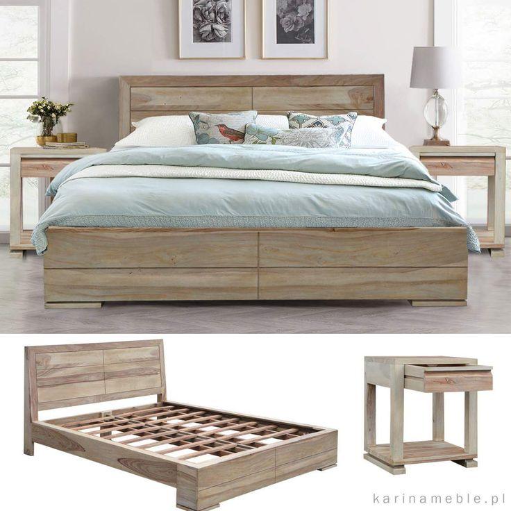 AQUA to nowe łóżko w naszej ofercie. Solidne i eleganacki, zrobione z litego drewna w zachwycajacym odcienu bielonego palisandru.