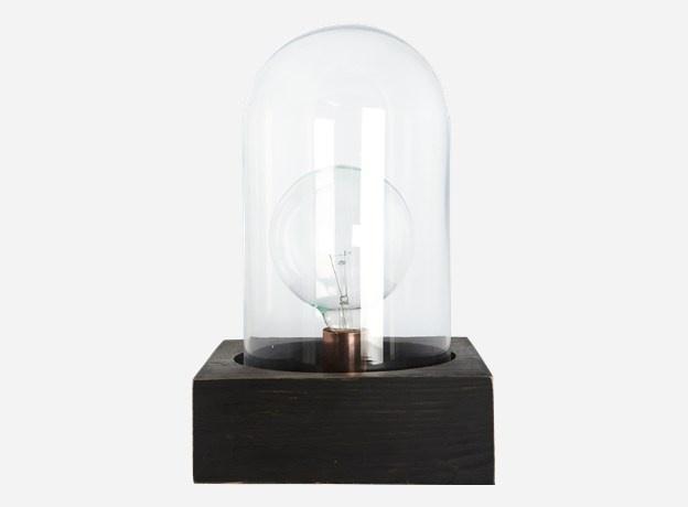 Lamp, Bell, black, 23x23 cm, h.: 8 cm (E27)