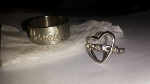 Ring name-ring heart #created by me
