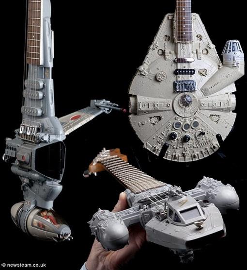 Star Wars' Guitars - Para músicos Nerds ou para Nerds que arriscam seus acordes.