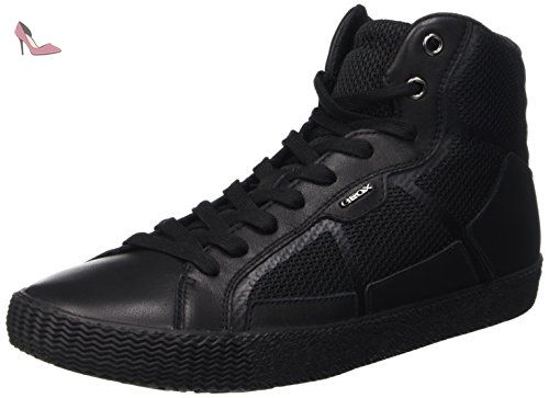 U Happy Art. H, Sneakers Basses Homme, Noir (Black), 45 EUGeox