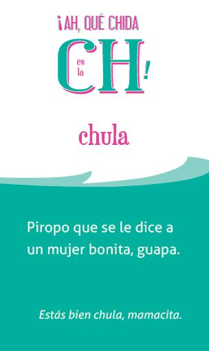 «Chula», el póster de la semana en @ElChingonario: