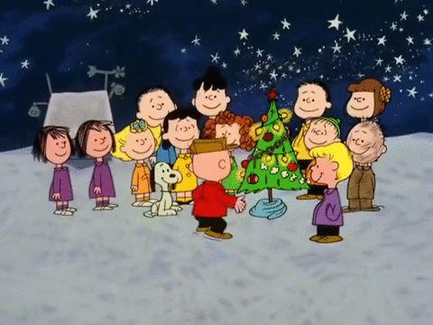 charlie brown christmas GIF by Peanuts