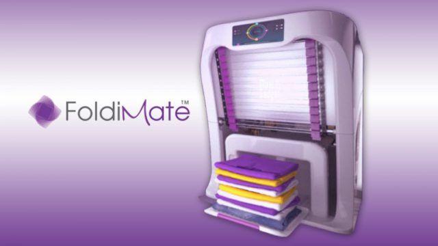 foldimate une tonnante machine qui plie et parfume. Black Bedroom Furniture Sets. Home Design Ideas