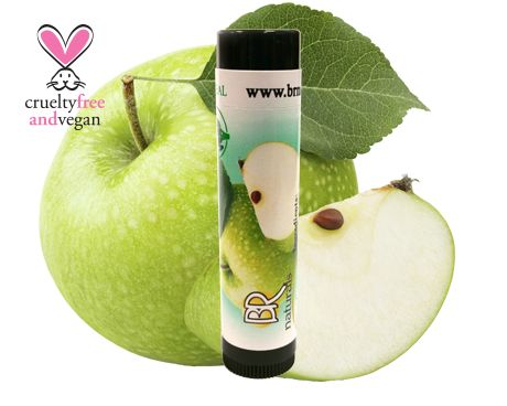 NATURAL GREEN APPLE LIP BALM Nothing is better than a juicy green apple!