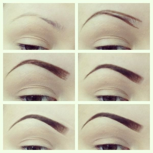 eyebrow tutorial -- this is how ive always done it.