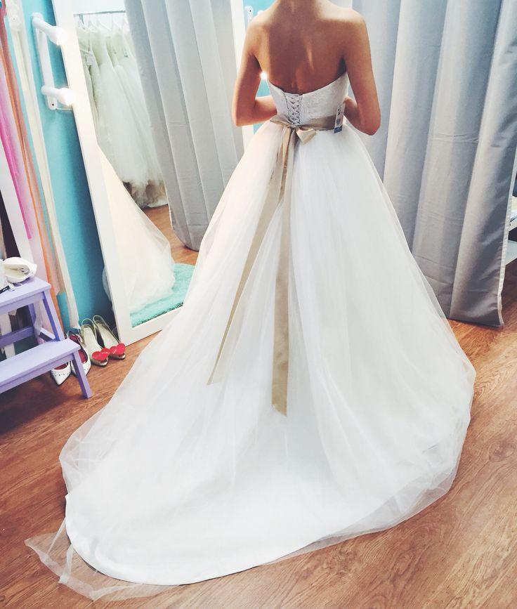 Свадебное платье  Wedding dress fluffy