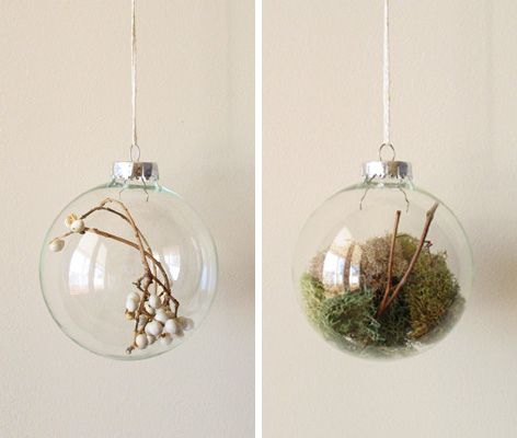 nature ornaments.: Decor Style, Natural Ornaments, Diy Ornaments, Holidays Parties Ideas, Holidays Decor, Christmas Decor, Christmas Ornaments, Diy Decor, Christmas Ideas