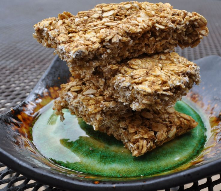 Pumpkin granola bars. also here, check out gingerbread granola bars, PB granola bars and homemade Clif bars.  Lots of other tasty looking recipes too!
