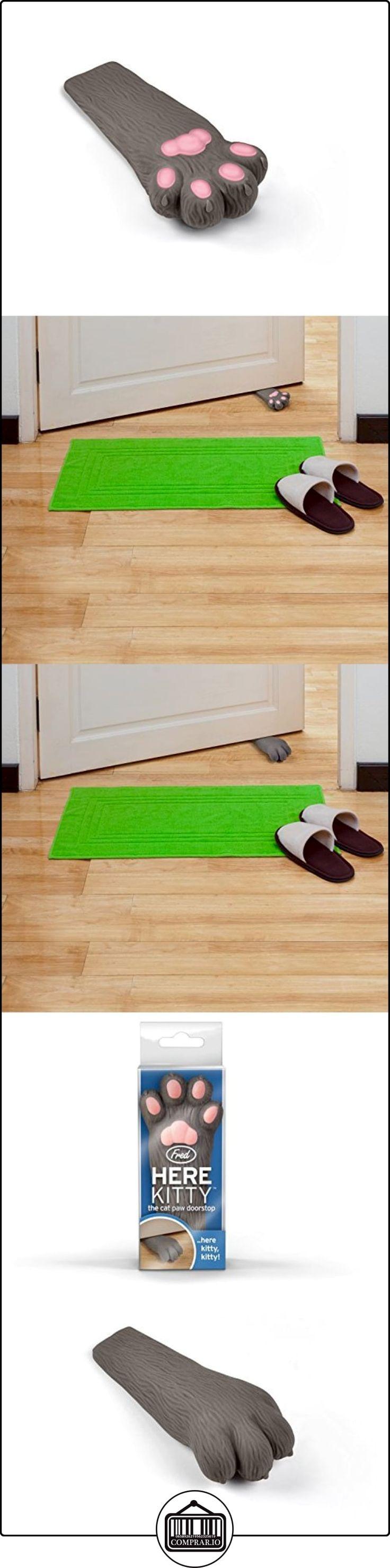 Fred FFHEREK - Bloqueador de puertas, diseño en forma de pata de gato, color gris  ✿ Seguridad para tu bebé - (Protege a tus hijos) ✿ ▬► Ver oferta: http://comprar.io/goto/B00FOLDY3K