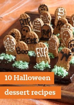 10 Halloween dessert recipes – When you're planning your Halloween party menu, Halloween desserts top the list in terms of deliciously devilish fun.
