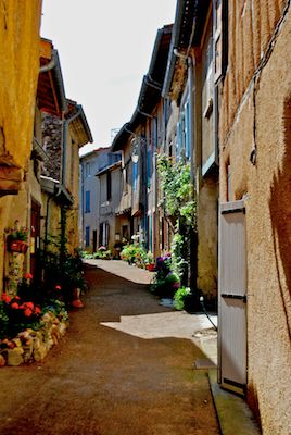Soreze, France. Sidestreet.