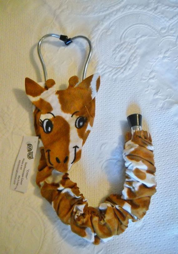 Stethoscope Cover Giraffe Pattern Unique Gift for by myscap