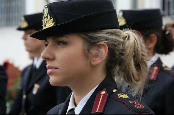 HOT RUSSIAN ARMY GIRLS   Female Soldiers of Hellenic Armed Forces