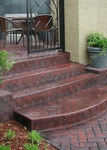 Best 61 Best Porch And Path Images On Pinterest Concrete 400 x 300