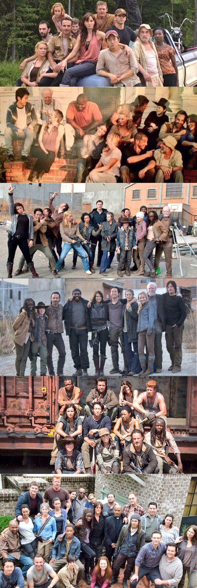 Any/Every Walking Dead fan will understand when I say: These pics bring out a wide range of emotions...