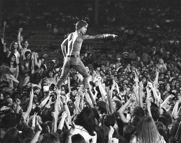 Iggy Cincinnati, Ohio 1970