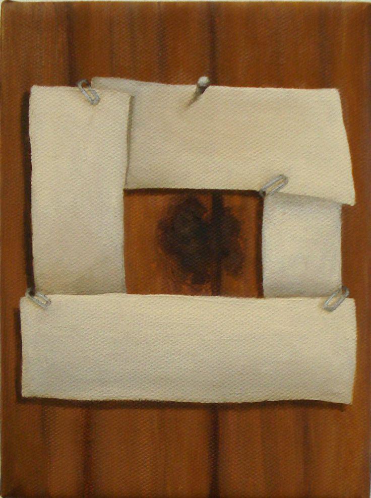 Cuadrado (2013) - Óleo sobre tela (13x18)