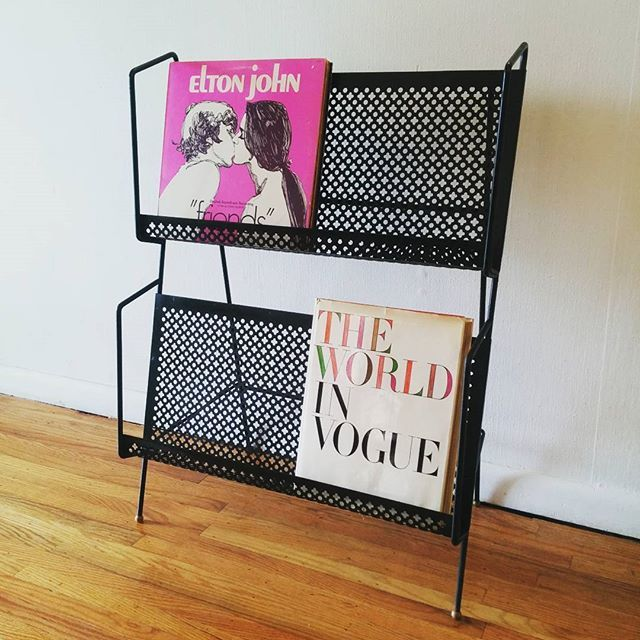 LISTEN to this READ all about: Mid century modern quatrefoil metal record magazine rack book shelf :) #midcenturymodern #midcenturymodernfurniture #retro #vintage #philly #philadelphia #nyc #manhattan #newyork #newyorkcity #sanfrancisco #losangeles #la #dc#washingtondc #pickedvintage #brooklyn #chicago #miami #record #audiophile #recordcabinet #recordrack #bookshelf #quatrefoil #magazinerack via Audiophiles on Instagram - Best Sound Quality Audiophile Headphones and High-Fidelity Premium…