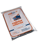 Reflect heat from behind your radiators. £12.95
