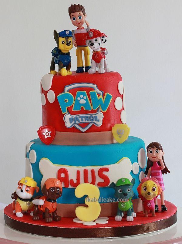 PAW Patrol Birthday Cake at ikabalicake.com