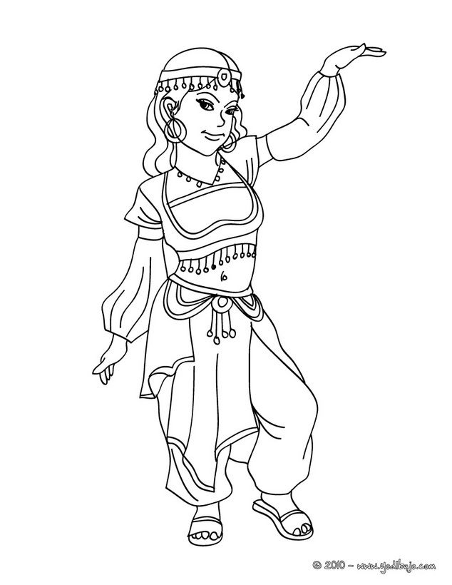 Chinese Princess Coloring Page You Can Also Color Online Your Good Choice This Is The