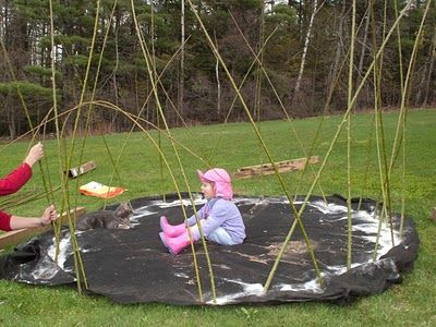 Basic tutorial for a living willow dome, written for North American gardeners (a lot of other sites are for the UK)