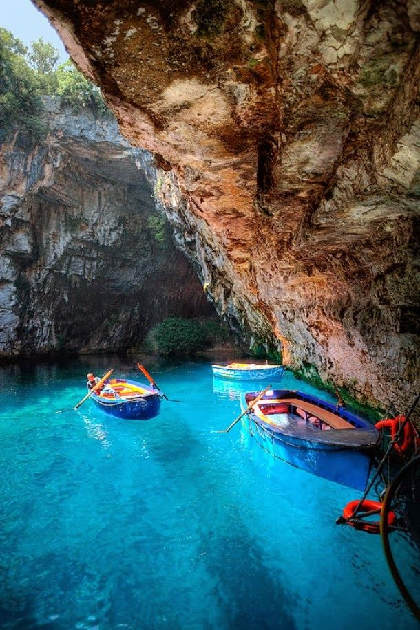 Melissani Caves, Kefalonia, Greece: