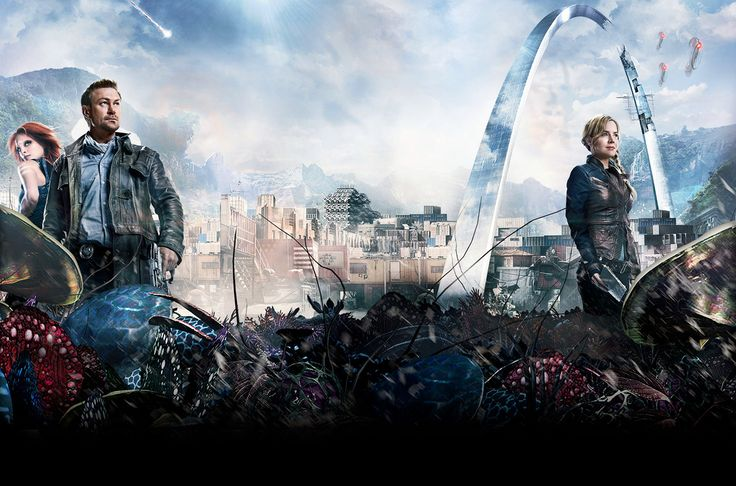 Defiance tv show | Review: SyFy's game-infused 'Defiance' TV series falls short of ...