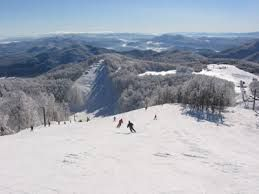 "Bjelolasica - On Bjelolasica is highly developed mountain tourism, there is positioned ""Croatian Olympic Centre Bjelolasica"" where the ski team regularly prepare for competition."
