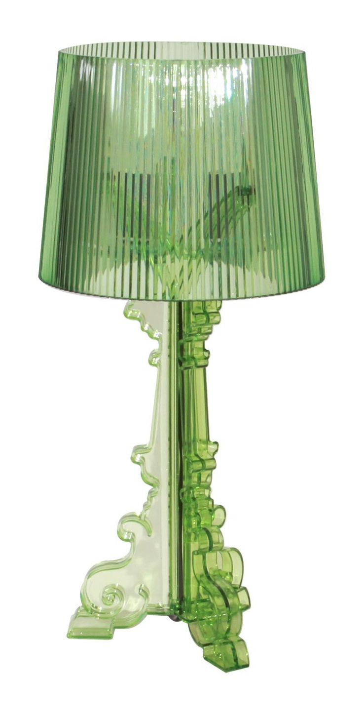 Green Kartell Ferruccio Laviani Bourgie table lamp