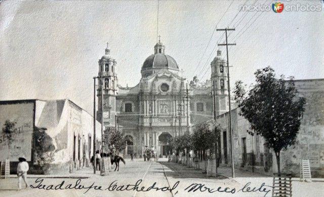 La Villa de Guadalupe Circa 1900-1920. Ciudad de Mexico