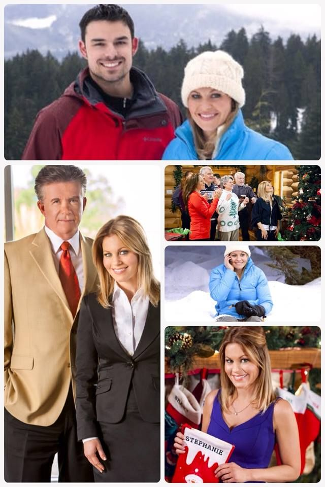 """IT STARTS NOW! """"Let It Snow"""" 8/7c starring Candace Cameron Bure, Alan Thicke & Jesse Hutch! And, watch & tweet LIVE with @Candace Renee Renee Cameron Bure during the movie! Get your Q's ready! Use #CountdowntoChristmas!"""