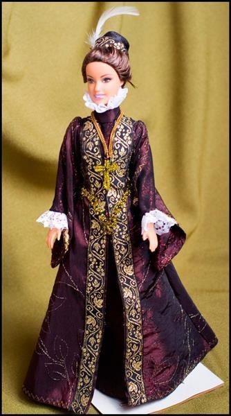 Куклы испанский костюм эпохи возрождения