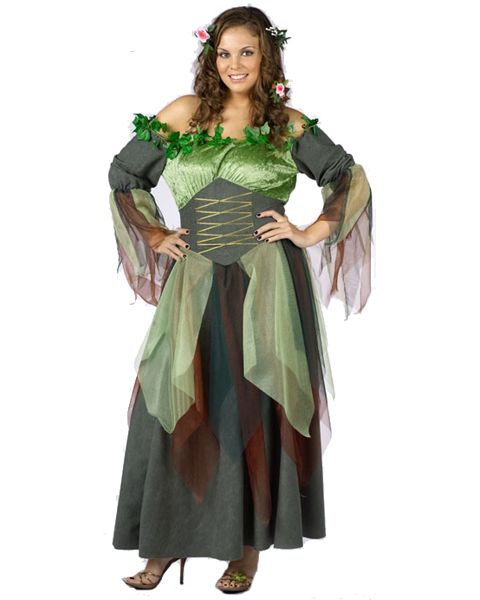 1176ca0243 Womens Plus Size Mother Nature Costume You know it's not nice to fool with  Mother Nature, but this outfit is so sexy many men will take a chance.