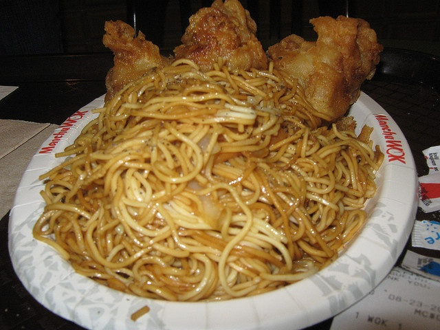 Chicken with pancit - click image for more health and fitness tips