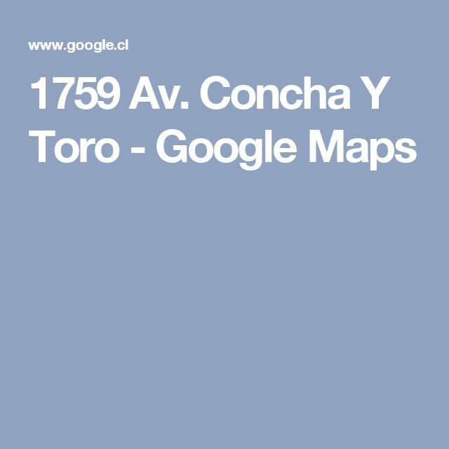 1759 Av. Concha Y Toro - Google Maps