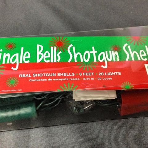 tsa This is an oldie but a goody. These shotgun shell Christmas lights were discovered back in December of 2012 in a carry-on bag at the Newark Liberty International Airport (EWR). All ammunition whether real or replica is prohibited from being transported in carry-on bags. This traveler wasn't up to anything malicious, so they likely still made Santa's nice list that year. Newark Liberty International Airport 2016/12/26 10:48:32