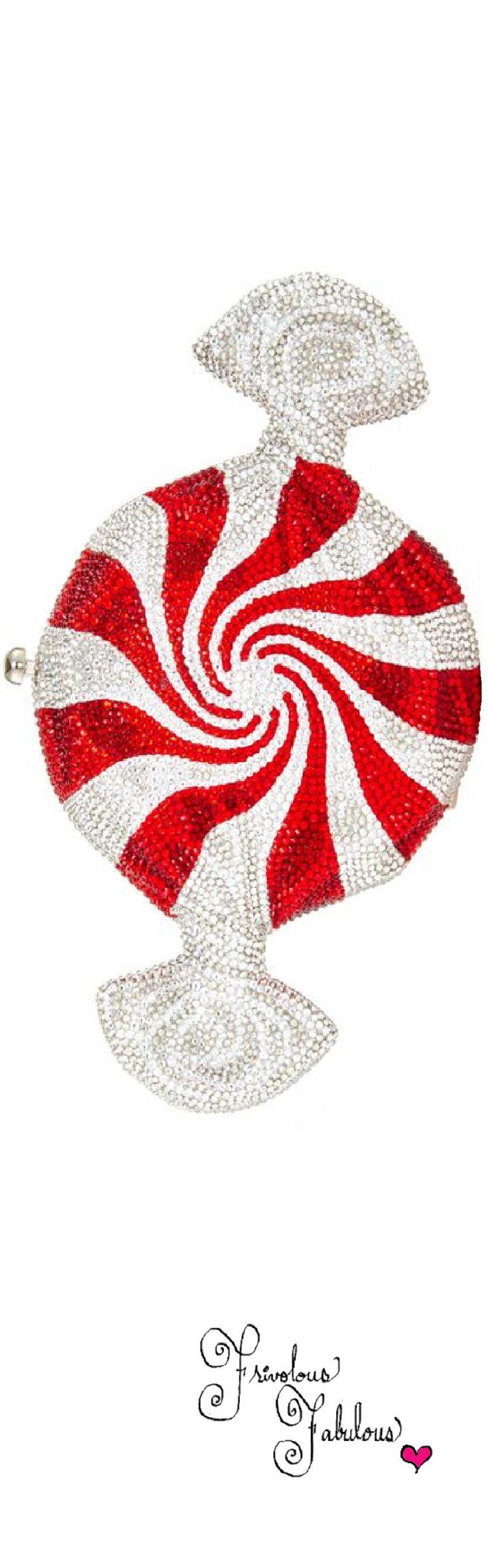 Frivolous Fabulous - Judith Leiber Peppermint Candy Clutch 2016